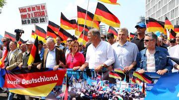 Manifestación de la ultraderechista Alternativa para Alemania