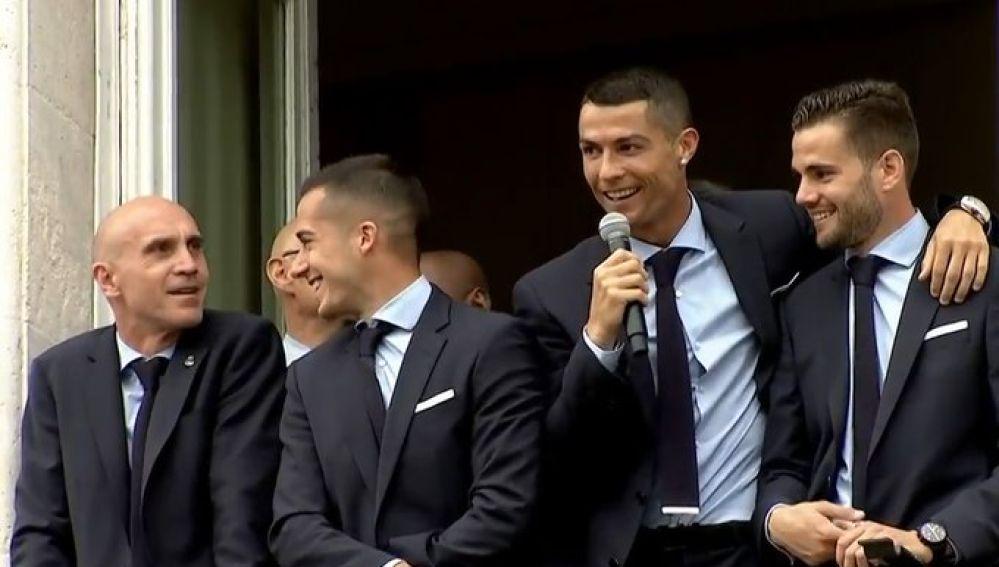 Ronaldo, en Sol