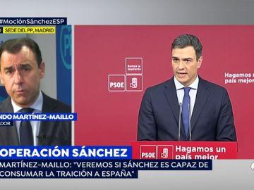 """Maillo, sobre la búsqueda de apoyos socialista para la moción de censura:  """"A Pedro Sánchez sólo le falta ir a Berlín a ver a Puigdemont"""""""