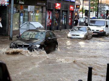 Lluvia en Salamanca