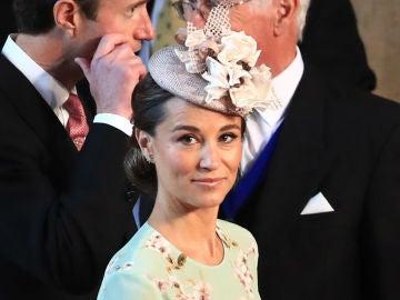 Pippa Middleton en la boda de Meghan Markle y el príncipe Harry