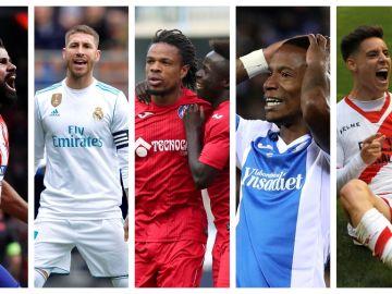 Cinco equipos madrileños en Primera