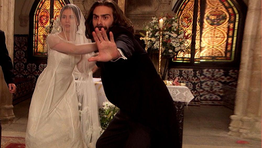 Esta tarde, Puente Viejo vive una boda rota por un tiroteo