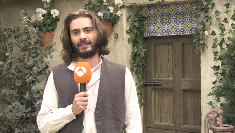 """Ibrahim Al Shami: """"Isaac llega a Puente Viejo tras un duro acontecimiento en su vida"""""""