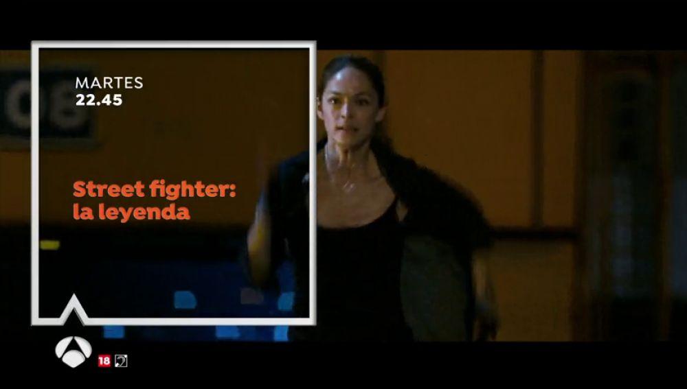 Cine de acción en Antena 3 con 'Street Fighter: la leyenda'
