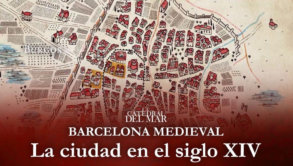 Así era la Barcelona medieval a la que llega Bernat