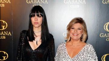 Terelu junto a su hija Alejandra Rubio