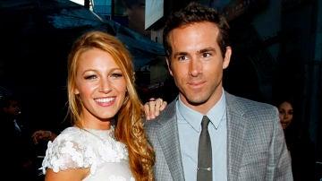 Blake Lively junto a Ryan Reynolds