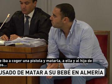 Un jurado enjuicia al acusado de matar a su bebé de 45 días para hacer daño a su pareja en Almería
