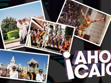 Fiestas populares en '¡Ahora Caigo!'