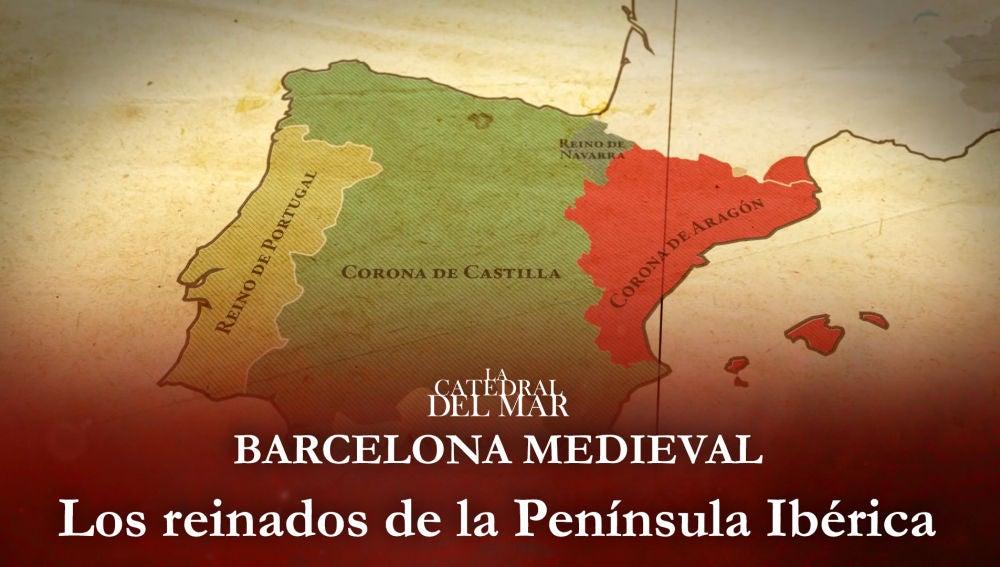 Los reinados de la Península Ibérica en el siglo XIV