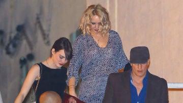 Emma Stone, Jennifer Lawrence y Woody Harrelson