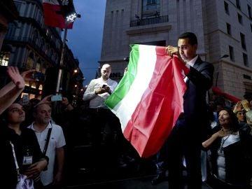 El líder del Movimiento 5 estrellas, Luigi Di Maio