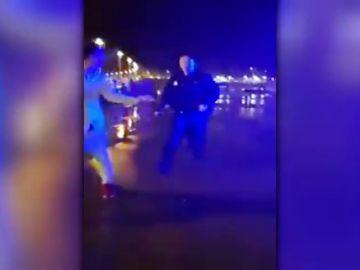 Polémica actuación policial en Gijón
