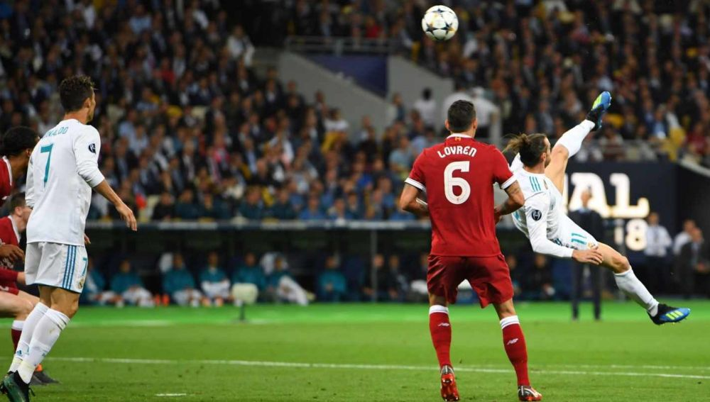 Chilena de Gareth Bale