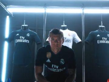 Las nuevas camisetas del Real Madrid para la temporada 2018/2019