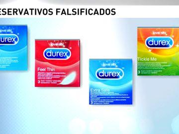 Alertan de la detección de preservativos Durex falsificados