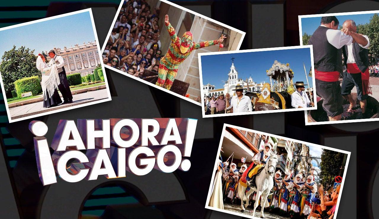 Super fiestas populares de ¡Ahora Caigo!