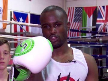 Nayanesh Ayman, la estrella congoleña de Muay Thai que lucha contra el maltrato