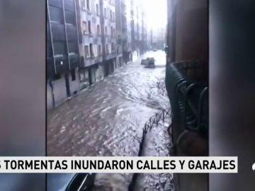 Las lluvias y tormentas vuelven a afectar a gran parte de la Península