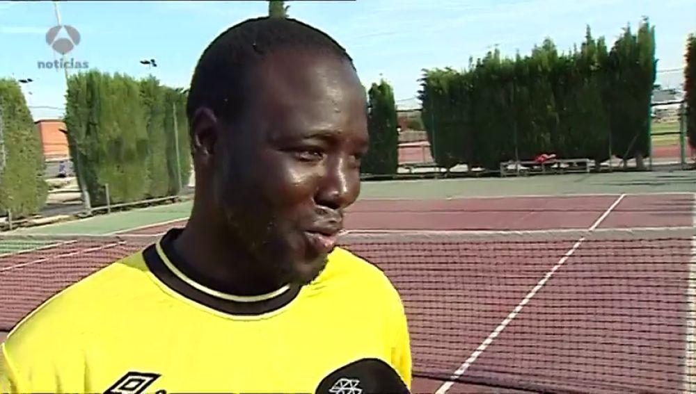 De triple campeón de tenis en Mali a 'sin papeles': la historia de Dramane Bagayoko