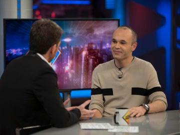 """Andrés Iniesta habla en 'El Hormiguero 3.0' de una de las etapas más duras de su vida: """"Vas sintiendo que no eres tú y que no disfrutas de las cosas"""""""