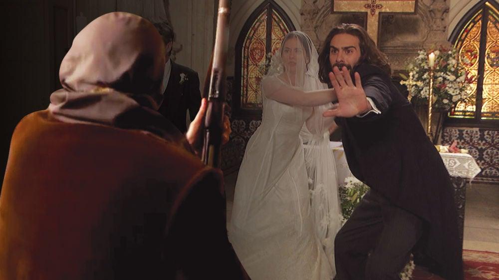 ¿Quiénes eran los encapuchados que irrumpieron en la boda de Elsa e Isaac?
