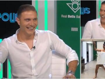Joaquín, durante una entrevista en BetisTV