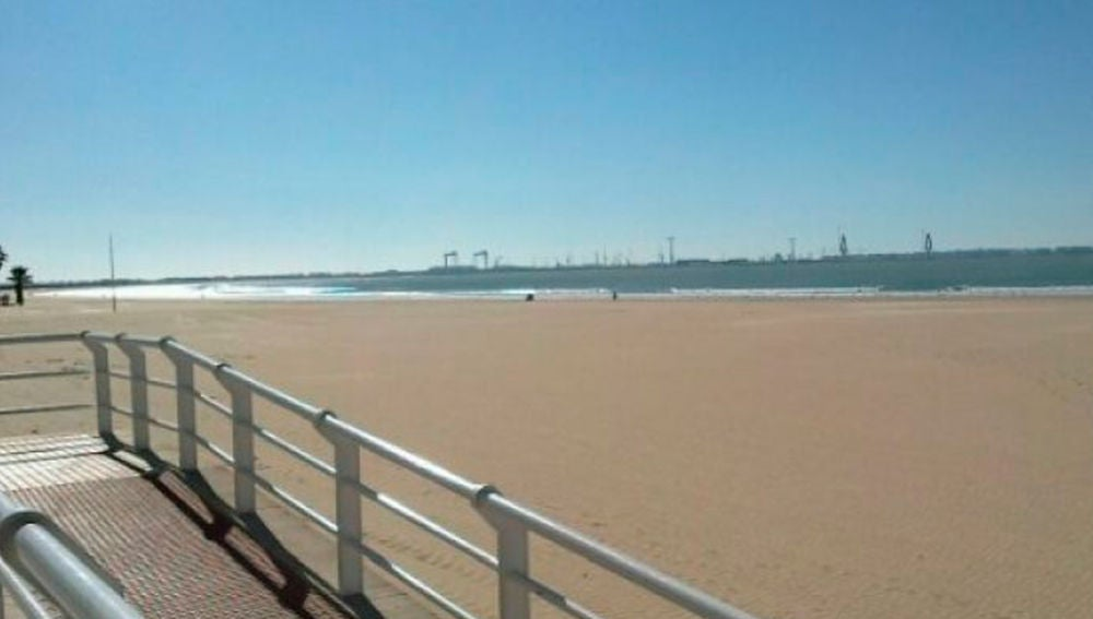 Playa de Valdelagrana, Cádiz