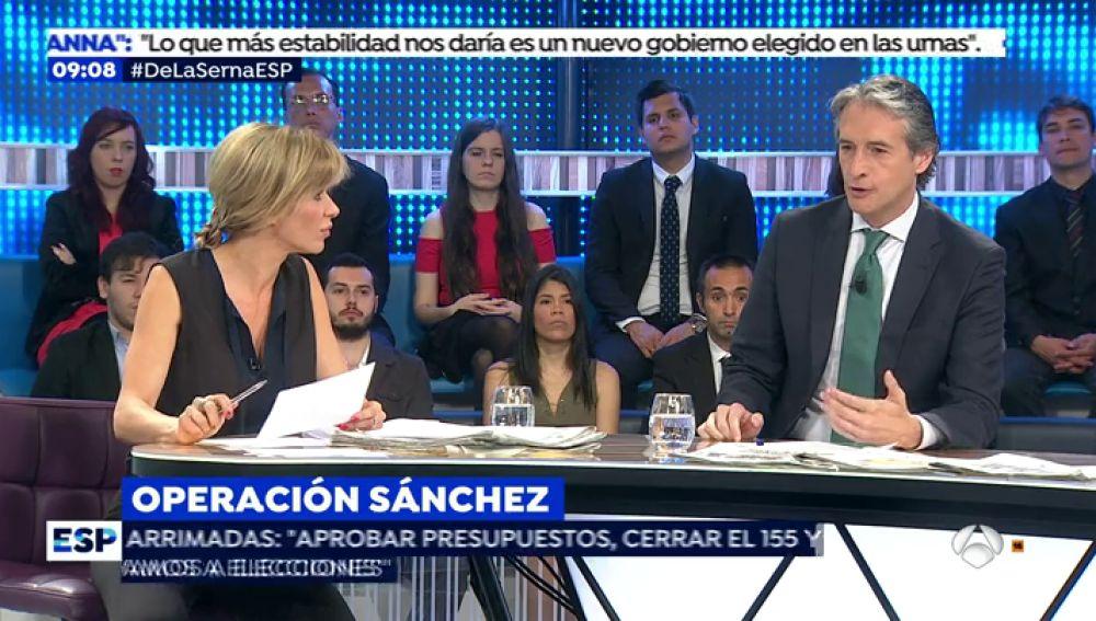 """De la Serna, sobre la moción de censura: """"Los votos de los independentistas no se dan a cambio de nada"""""""