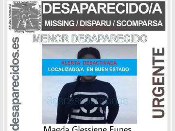 Encuentra a la menor desaparecida en Santa Coloma de Gramanet