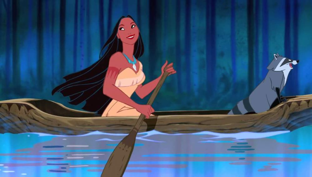 Pocahontas a remojo