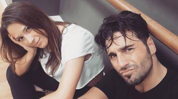 David Bustamante y Yana Olina