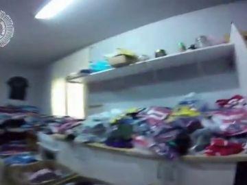<p>Detenido el mayor distribuidor de productos falsificados en Madrid </p>