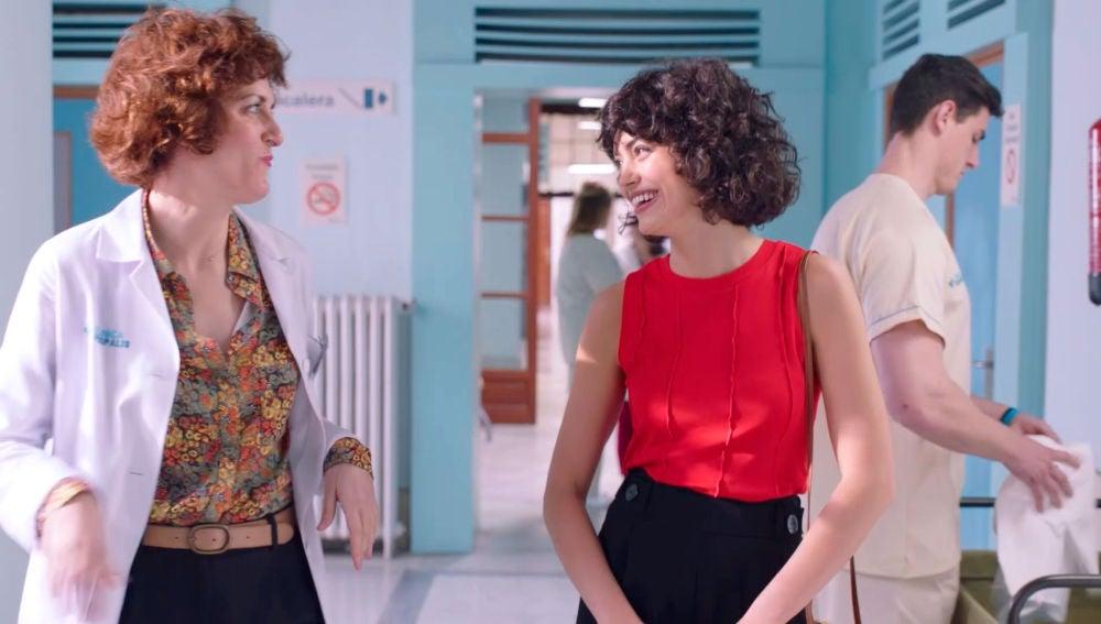 La ayudante de Celia, un pibón que afectará a la relación de Celia y Dolores
