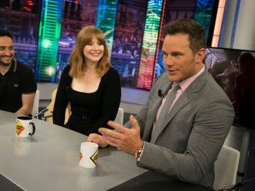 """Chris Pratt en 'El Hormiguero 3.0': """"J.A. Bayona es el director perfecto para este tipo de películas"""""""