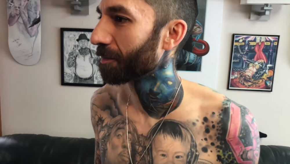 Los tatuajes de Rick Scolamiero