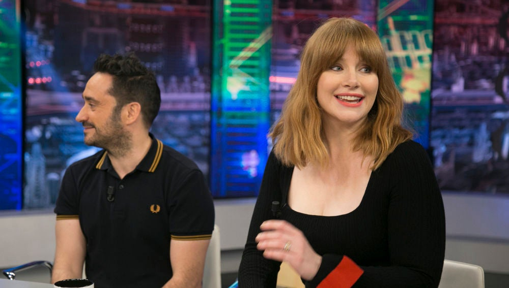 Bryce Dallas Howard en 'El Hormiguero 3.0'