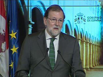 """<p>Mariano Rajoy sobre la política: """"De otras que no lo son tanto no me acuerdo""""</p>"""