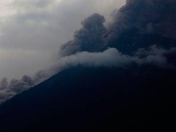 Erupción del Volcán en Guatemala
