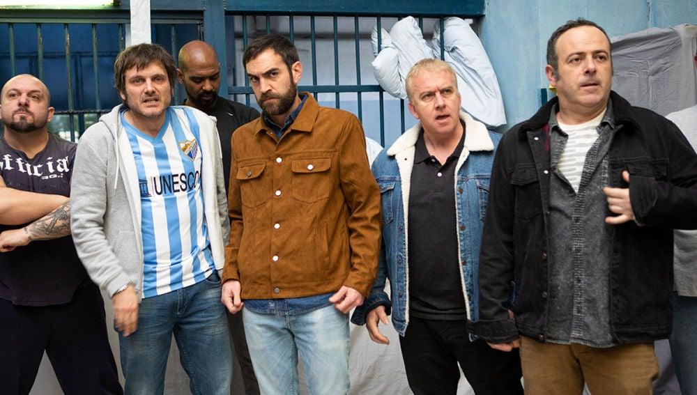 Iñaki, Peio, Antxón y Jozé, secuestrados en la cárcel