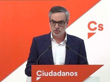 """<p>Villegas insta a Sánchez a """"volver al 155"""" en Cataluña</p>"""