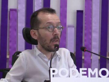 <p>Podemos pide a Sánchez que los permisos de paternidad sean ya iguales e intransferibles y que se mejoren las pensiones</p>
