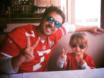 Luis Fonsi y su hija Mikaela