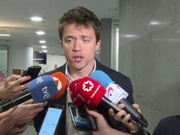 """<p>Errejón, sobre la marcha de Rajoy: """"No le ganó el pulso a la sociedad española""""</p>"""