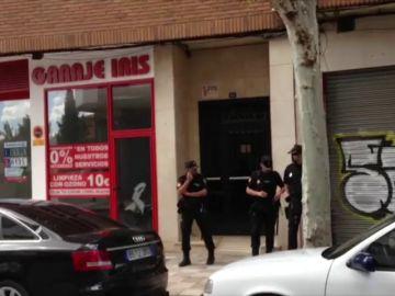 <p>La Policía investiga la muerte violenta de una mujer en su vivienda en Albacete</p>