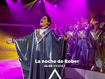El viernes, Rosa López y Julio José Iglesias como nunca antes los habías visto en 'La noche de Rober'