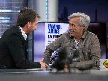 Imanol Arias desvela en 'El Hormiguero 3.0' a quién votaría si hubiera elecciones