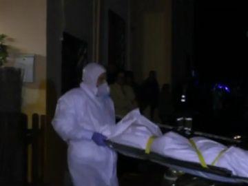 Levantamiento del cadáver en Fuerteventura