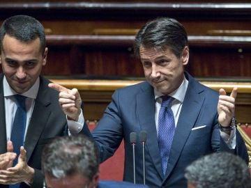 El presidente del Gobierno italiano, Giuseppe Conte
